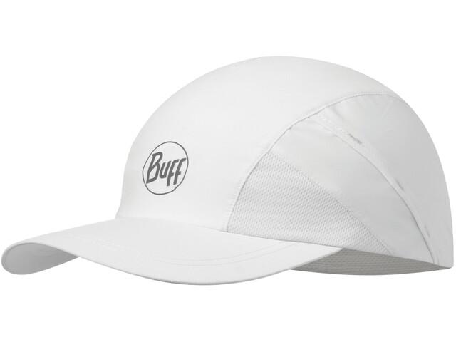 Buff Pro Run Cap r-solid white
